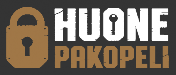 Huonepakopeli Suomi logo