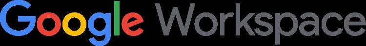 Google Workspace logo color