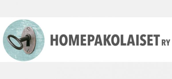Homepakolaiset ry logo